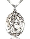 St John the Baptist Sterling Silver Medal