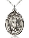 St Juliana of Cumae Sterling Silver Medal