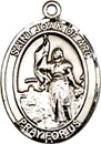 St Joan of Arc Sterling Silver Medal
