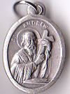 St. Andrew Economical Oxidized Medal