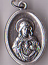 Immaculate Heart of Mary Inexpensive Oxidized Med