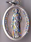 St. Joseph the Worker Oxidized Medal