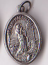 Mary Magdalena Inexpensive Oxidized Medal