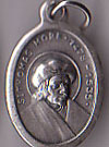 St. Thomas More Inexpensive Oxidized Medal