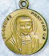 St Louise Gold Filled Medal