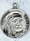 Mother Teresa Sterling Silver Medal