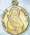 St Maria Goretti Gold Filled Medal