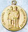 St Michael (Police) Gold Filled Medal