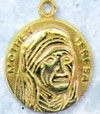 Mother Teresa Gold Filled Medal
