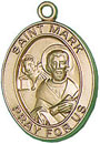 St Mark Gold Filled Medal