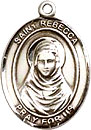 St Rebecca Sterling Silver Medal