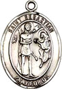 St Sebastian Gold Filled Medal