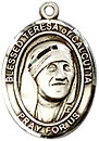 St Teresa of Calcutta  Sterling Silver Medal