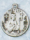 St Thomas More Sterling Silver Medal