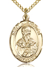 St Alexander Gold Filled Medal