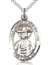 St Andrew Kim Tai Con Sterling Silver Medal
