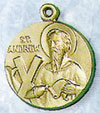 St Andrew Gold-Filled Medal