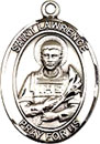St Lawrence Sterling Silver Medal