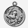 St Elias Sterling Silver Medal