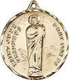 St Jude Gold Filled Medal
