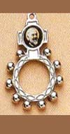 Padre Pio Rosary Ring