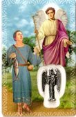 St Raphael the Archangel Laminated Card