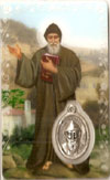 St Charbel Laminated Prayer Card