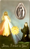 Divine Mercy Chaplet Laminated Prayer Card