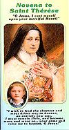 St Therese 4-Fold Laminated Card - French