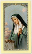Mother of Sorrow Prayer Card