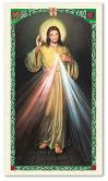 Chaplet of Divine Mercy Laminated Prayer Card