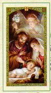 Christmas Blessing Laminated Prayer Card
