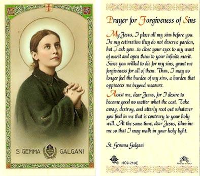 許しのためのカトリックの祈り