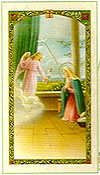 Archangel Gabriel Laminated Prayer card