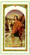 Saint Christopher Journey Laminated Prayer Card