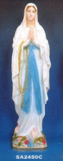 Our Lady of Lourdes Vinyl Statue