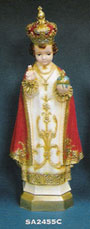 Infant of Prague Vinyl Statue