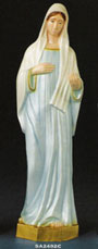 Our Lady of Medjugorie Vinyl Statue