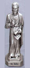 St John the Evangelist Pewter Statue