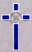 Navy Pewter Military Cross