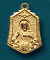 Scapular Gold Filled Medal