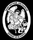 Saint Michael Car Decal