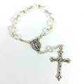 Crystal One Decade Rosary
