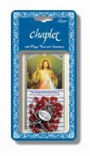 Divine Mercy Chaplet with Prayer Card