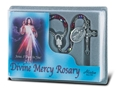 Divine Mercy Red Crystal Rosary