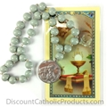 Blessed Sacrament Chaplet with  Prayer Card