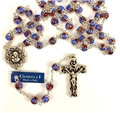 Ghirelli Floral Glass Bead Rosary