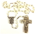 Ghirelli Mother of Pearl Rosary