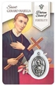 St. Gerard - Fertility Healing Wallet card with Medal