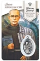 St. Max Kolbe - Addiction Healing Wallet card with Medal